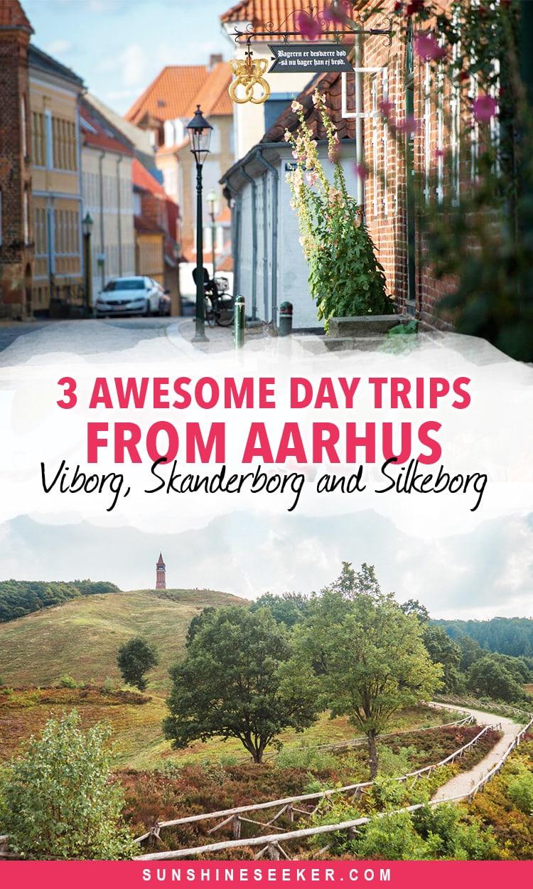 3 awesome day trips from Aarhus - Viborg, Skanderborg og Silkeborg #Denmark