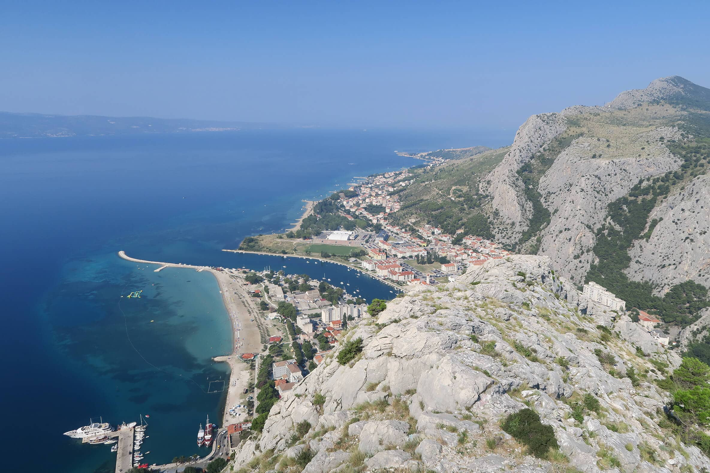 Omis, Croatia - One of the most underrated cities in the world + why you should add it to your bucket list low!