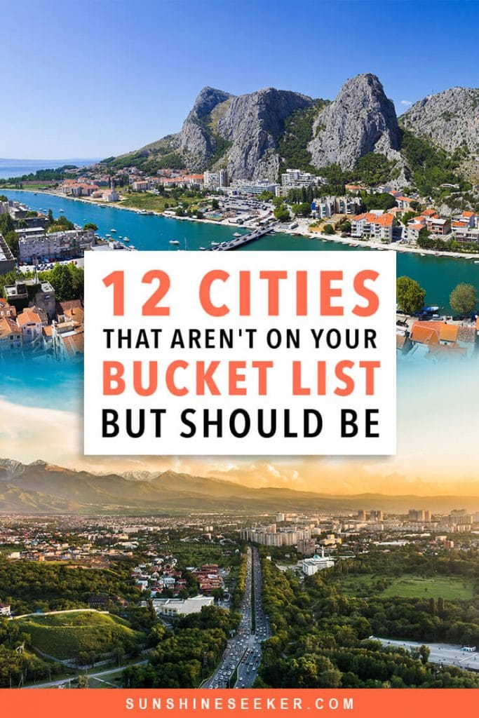12 of the most underrated cities in the world + why you should add them to your bucket list now #bucketlist #wroclaw #omis #travelinspo