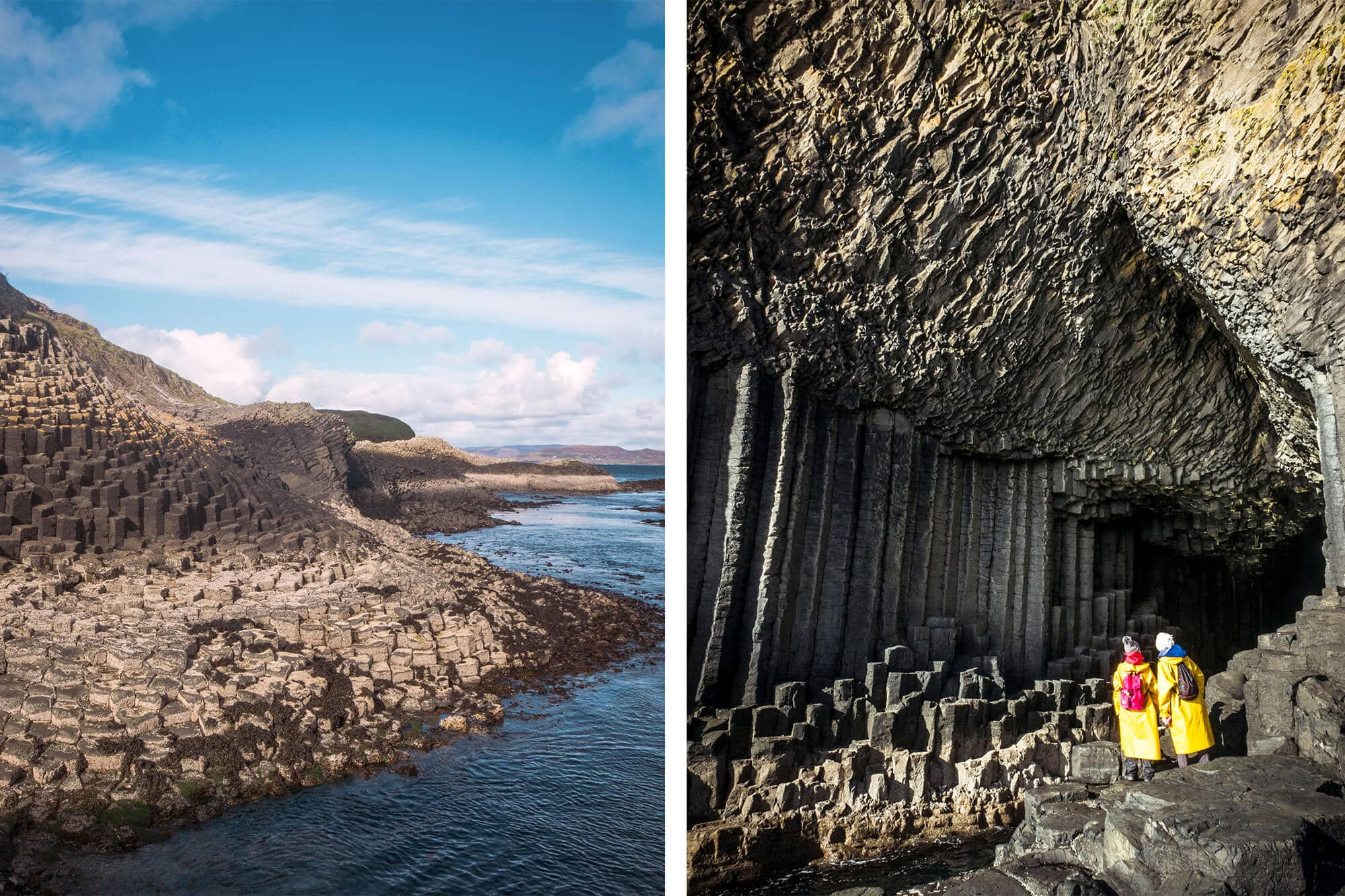 16 female travel bloggers reveal their favorite lesser-known islands - Isle of Staffa outside Scotland #bucketlist
