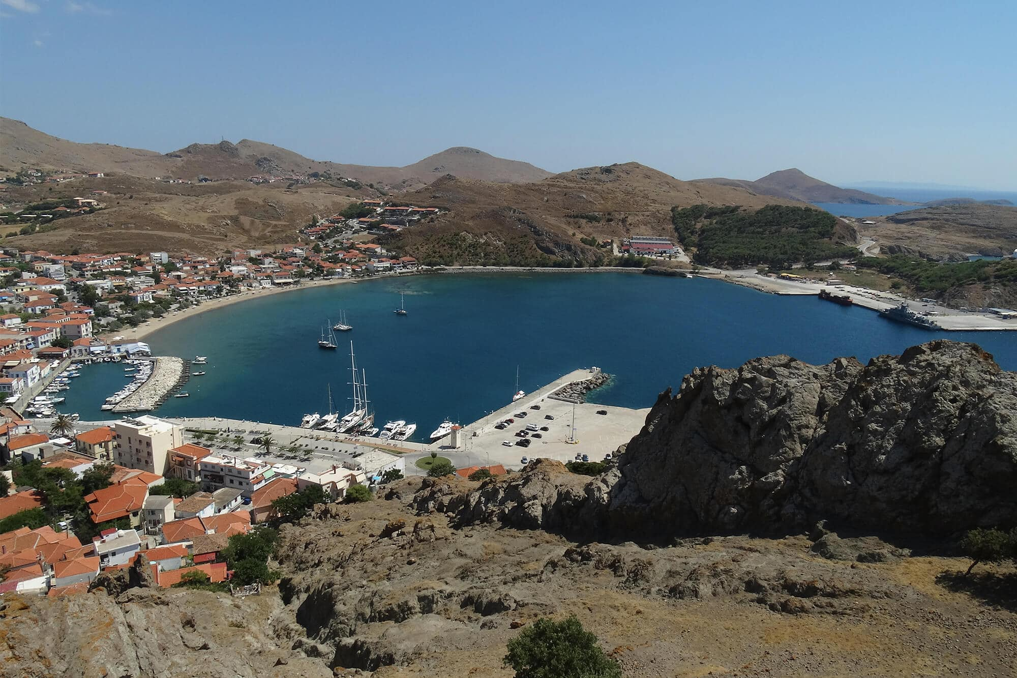16 female travel bloggers reveal their favorite lesser-known islands - Lemnos, Greece #bucketlist