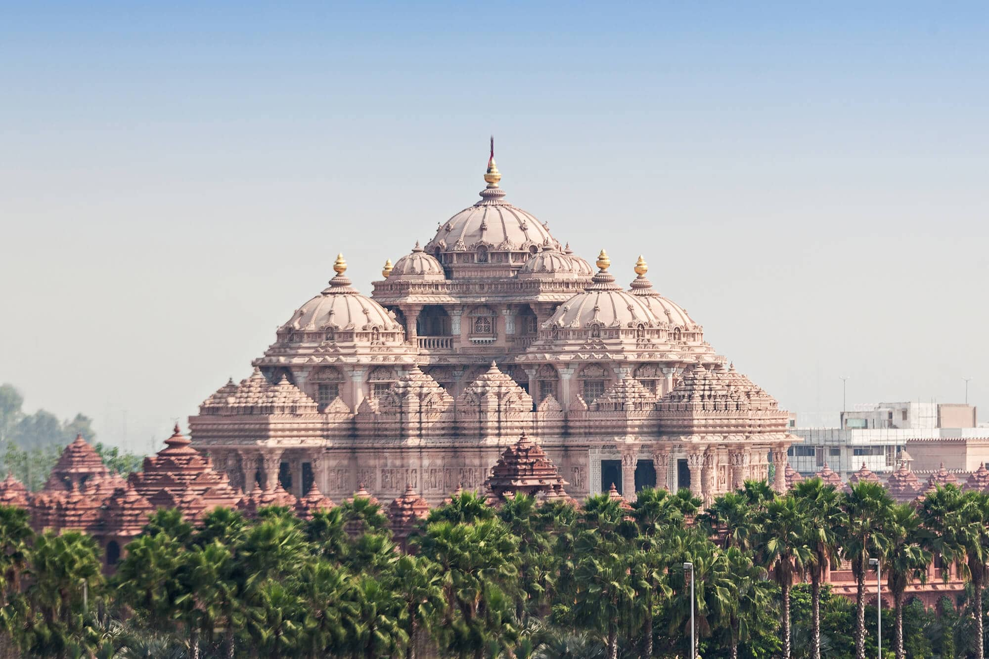 A first timer's guide to Delhi, India - Akshardham Temple