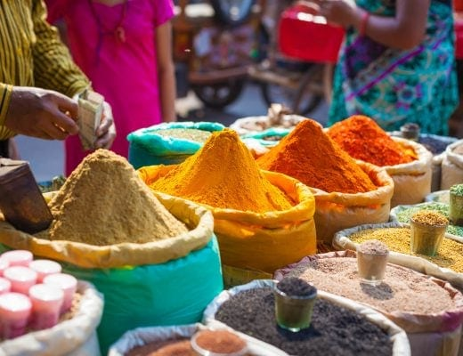 A first timer's guide to Delhi, India - Spice Market
