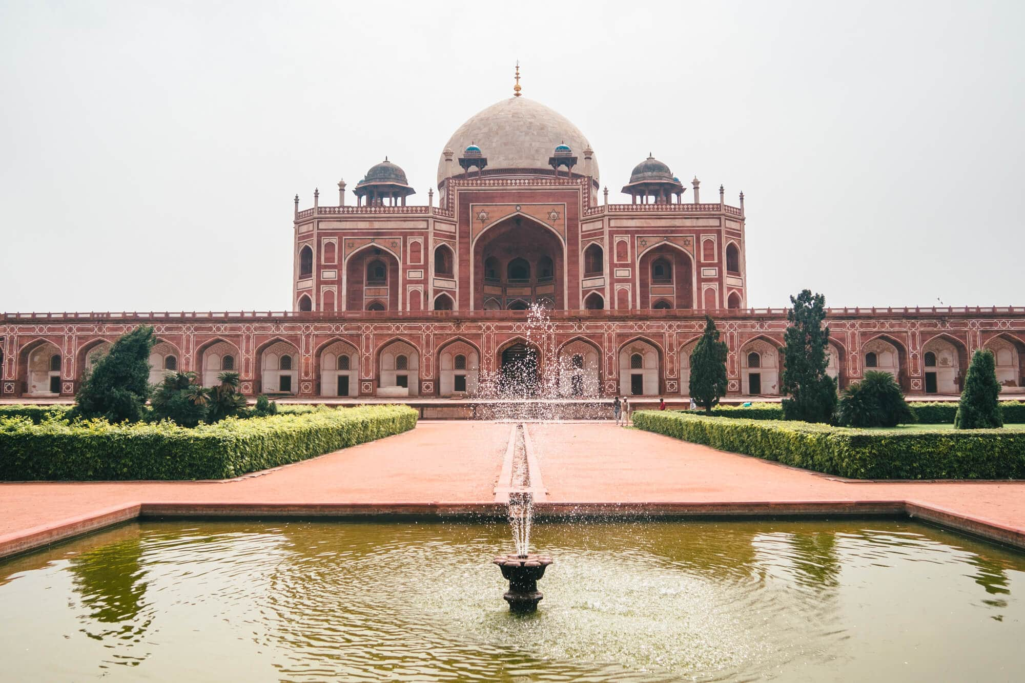 A first timer's guide to Delhi, India - Humayun's Tomb the highlight of Delhi