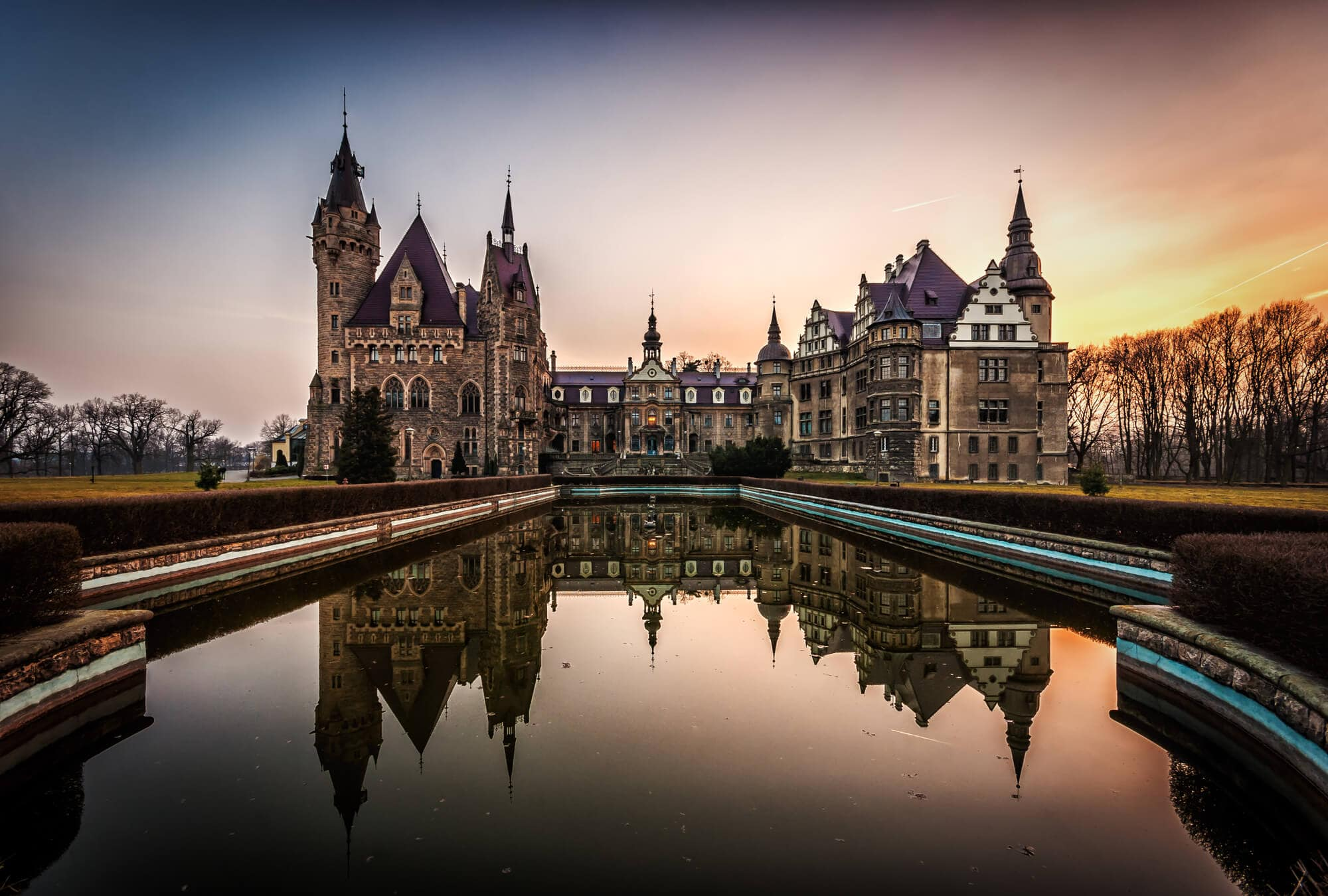 12 of the most beautiful castle in Poland you should add to your bucket list - Moszna Castle