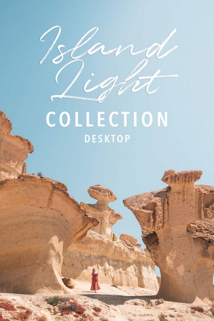 Island Light Lightroom presets for travel photos - Desktop