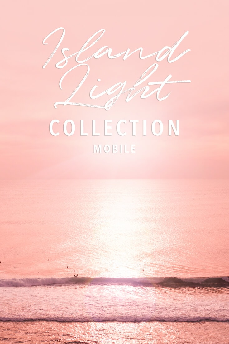 Island Light Lightroom presets for travel photos - Mobile