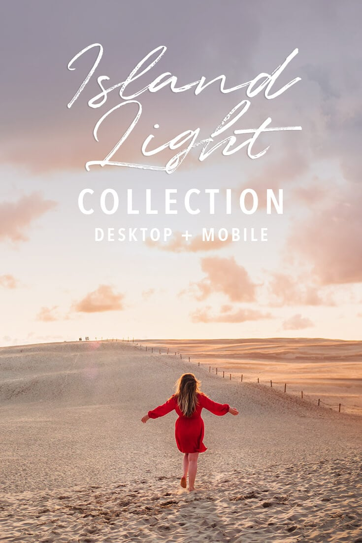 Island Light Lightroom presets for travel photos - Mobile & Desktop