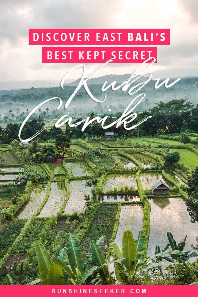 Kubu Carik Bungalows in Karangasem, East Bali. Discover why this incredible hotel should be on your Bali bucket list #bali #karangasem #eastbali #travelinspo #bucketlist