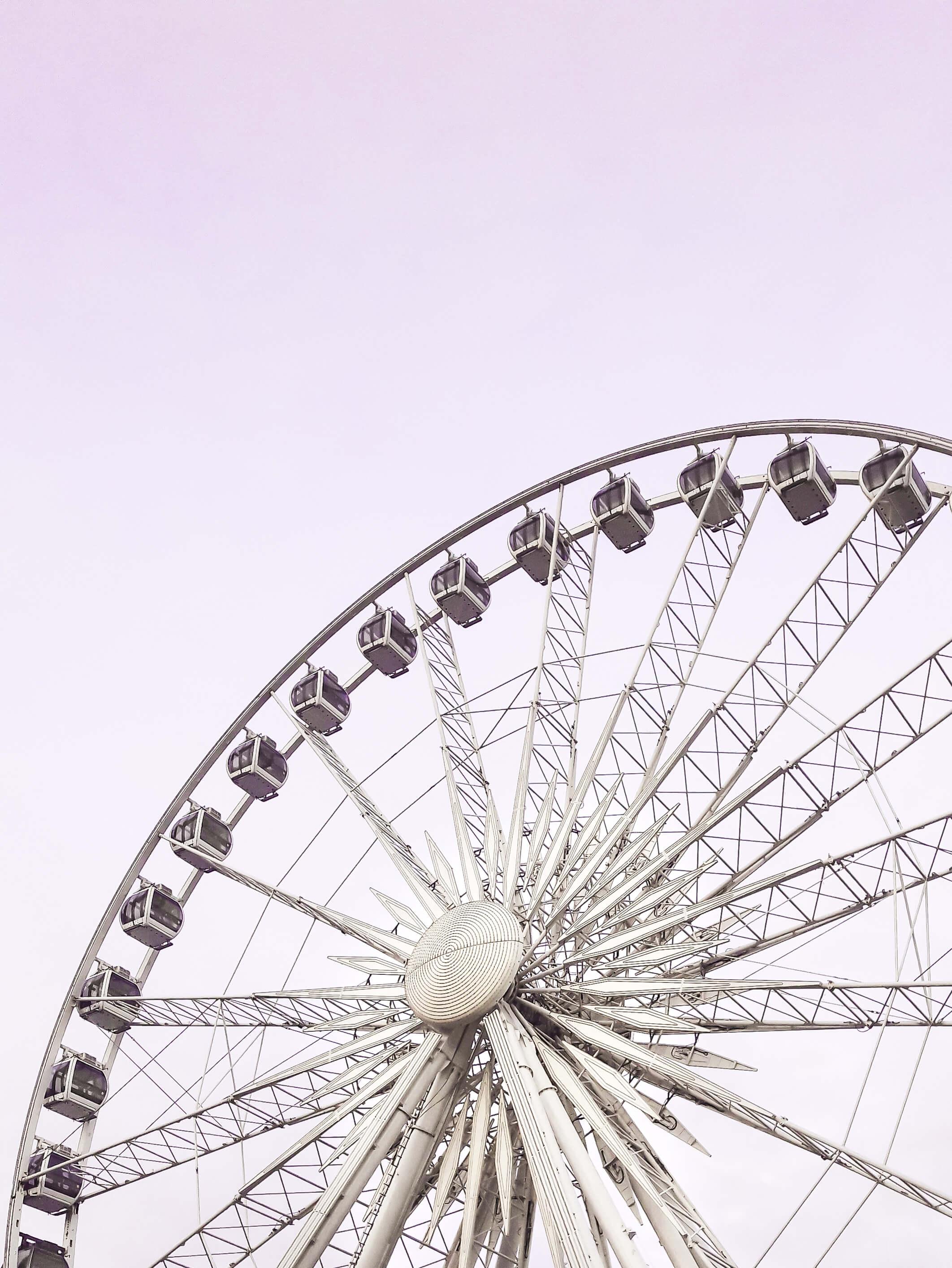 2 days in Gdansk, Poland - AmberSky ferris wheel