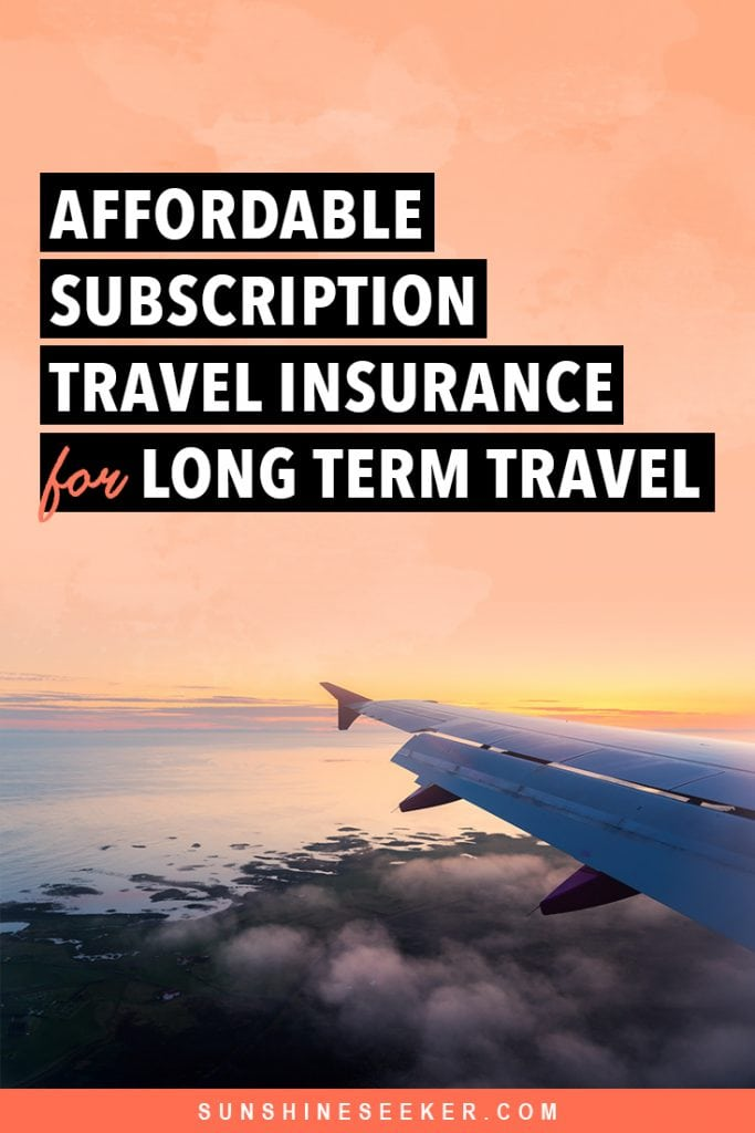 SafetyWing review: The best travel medical insurance for long-term travel and digital nomads. Affordable subscription travel insurance