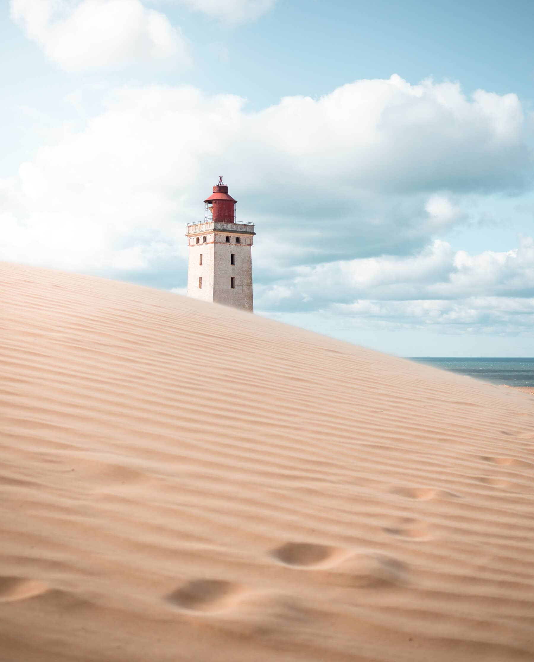 The Ultimate Denmark Bucket List. 101 awesome things to do - Rubjerg Knude Lighthouse