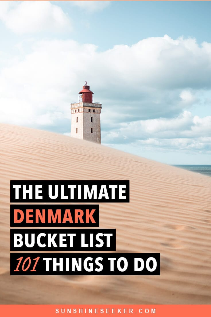 The Ultimate Denmark Bucket List. 101 awesome things to do #denmark #bucketlist #aarhus #copenhagen #roskilde