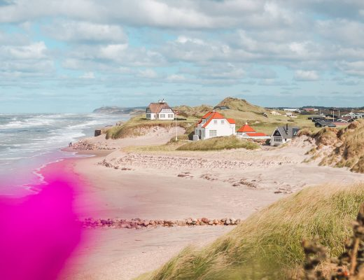 The Ultimate Denmark Bucket List. 101 awesome things to do - View of Løkken