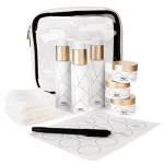Luxury TSA approved travel bottle set for toiletries - Best travel gifts under $50