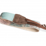 Cute camera strap with pastel map print - Best travel gift idea under $50