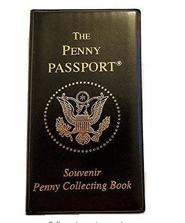 Pressed Penny Souvenir collector book
