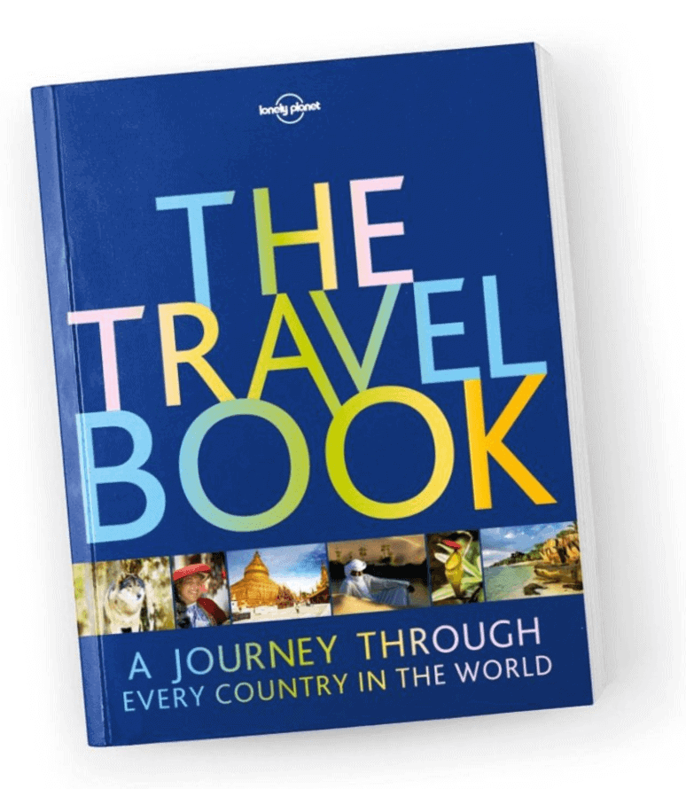 The Travel Book - A journey though every country in the world by Lonely Planet