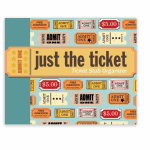 Ticket collector's book - Best travel gift ideas under $50