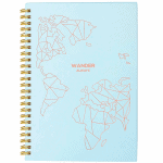 Cute women's travel planner journal - Best travel gift ideas under $50