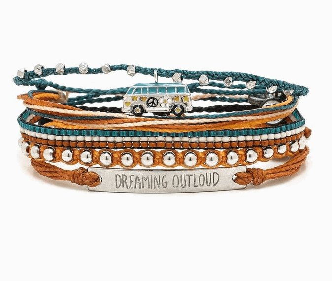 Pura Vida bracelets - Support local artisans in low income countries