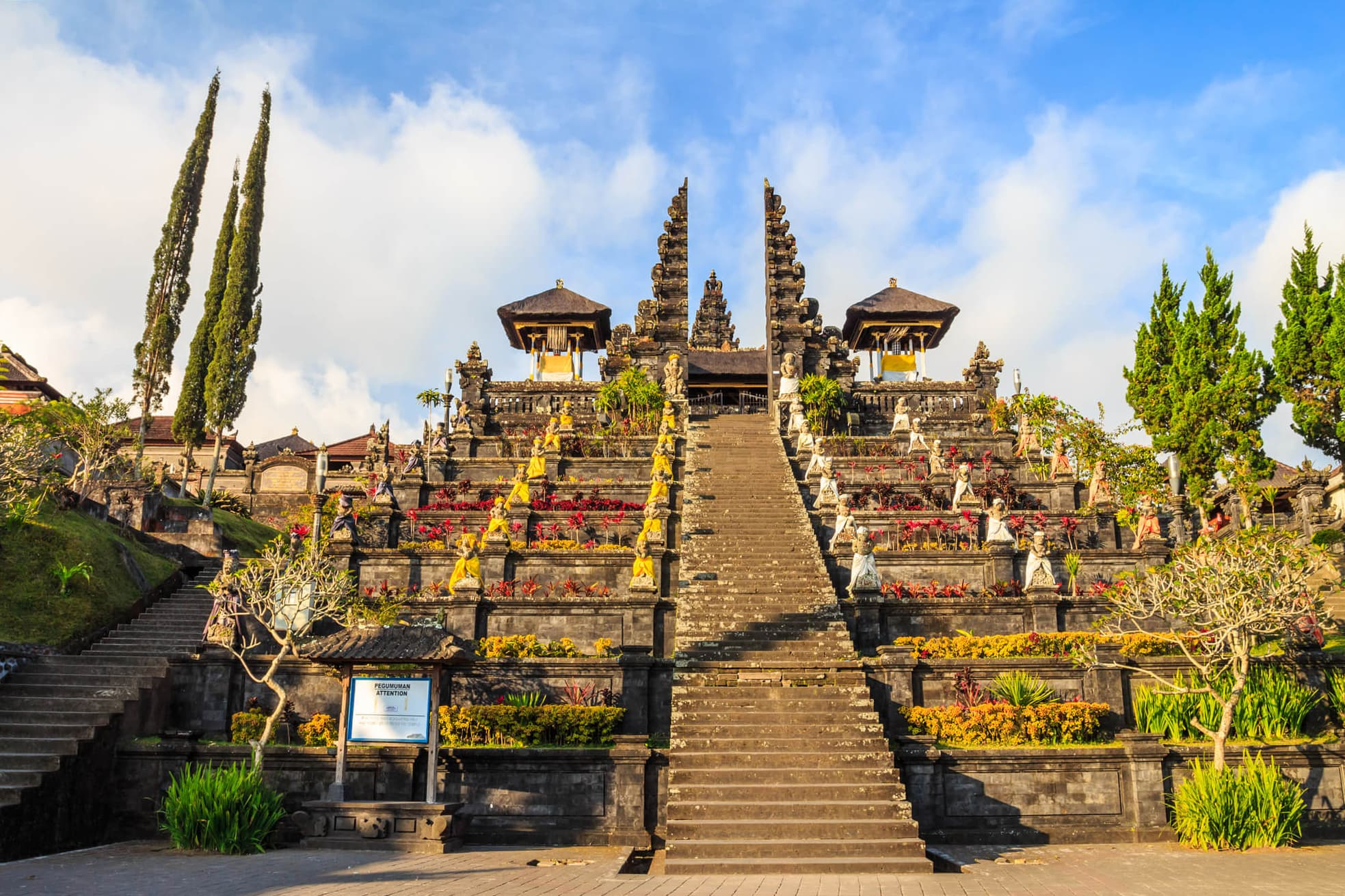 Pura Besakih, also known as the mother temple - One of the top things to do in East Bali