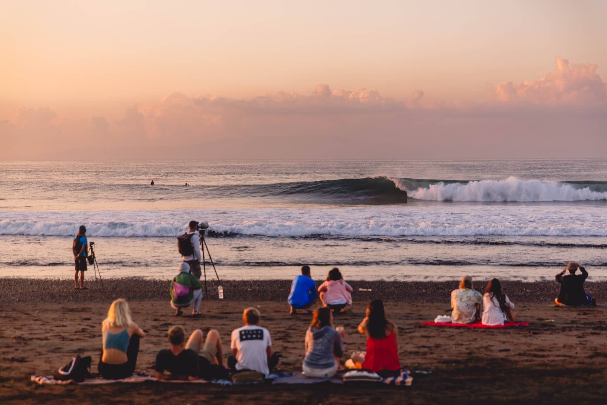 Surf the world famous break in Keramas East Bali