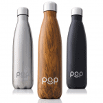 Sustainable travel gift ideas - Reusable stainless steel water bottle