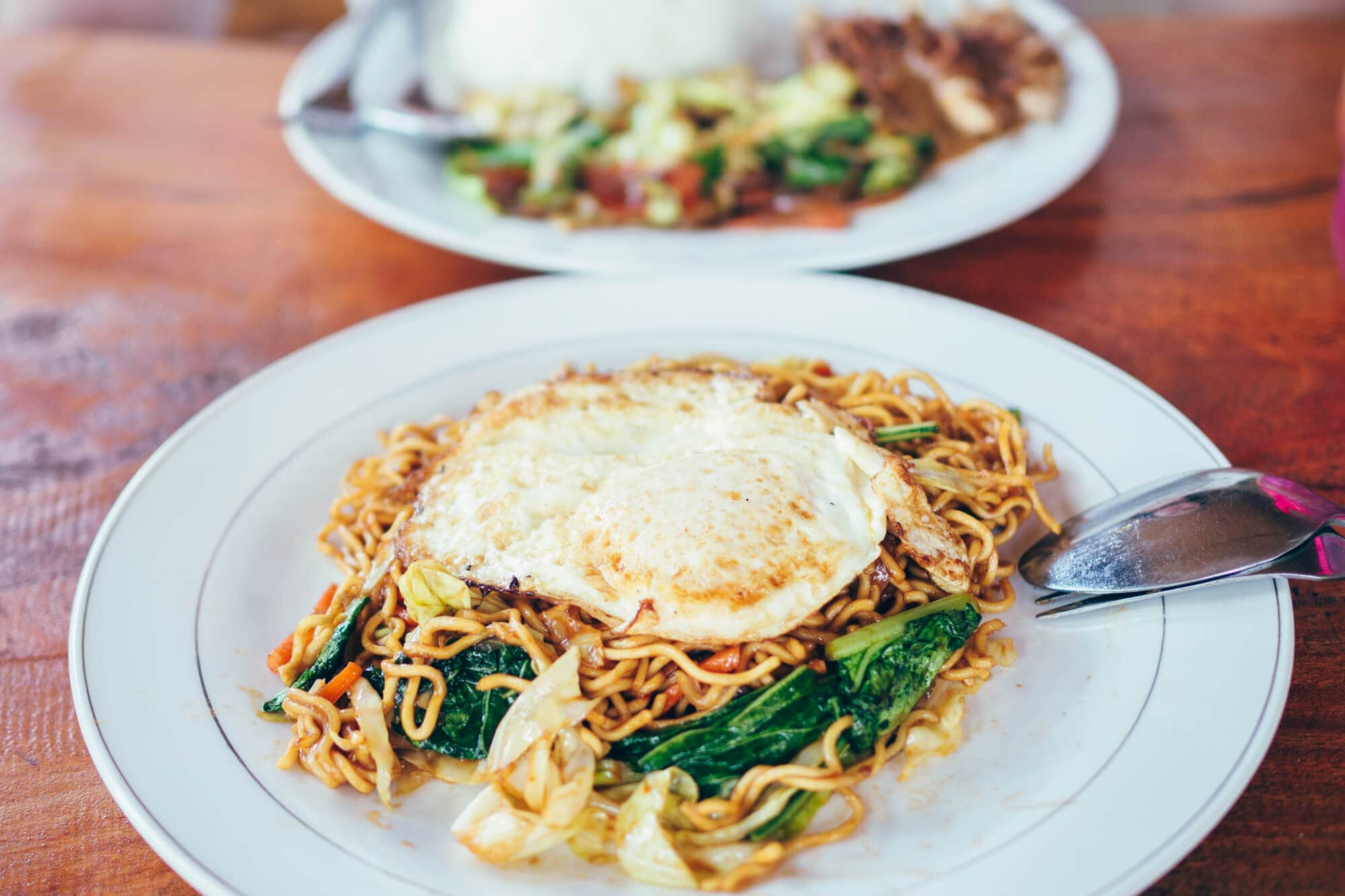 Mie Goreng (Indonesian fried noodles) in Nusa Penida