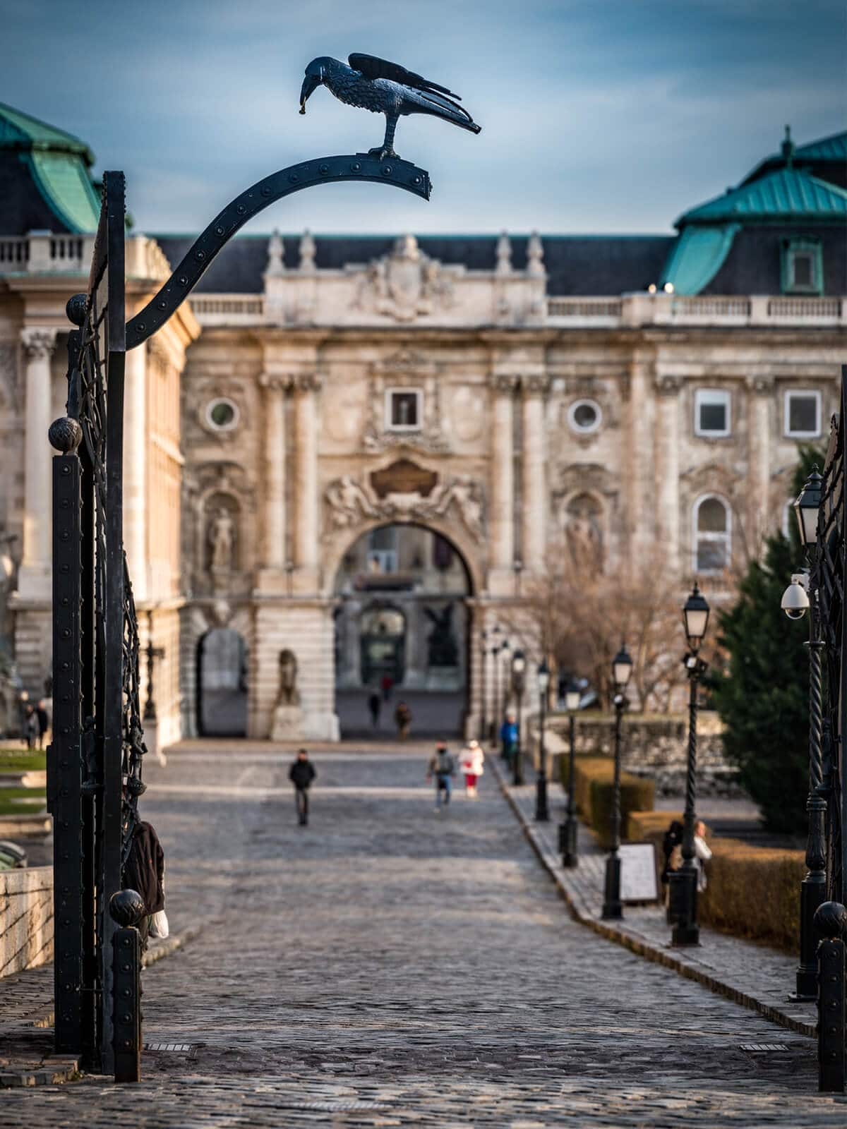 Budapest Instagram photo guide - Raven Gate at Buda Castle