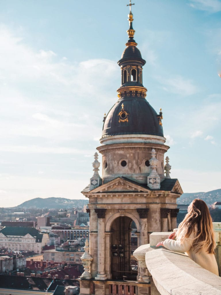 Budapest Instagram photo guide - St. Stephen's Basilica panorama lookout