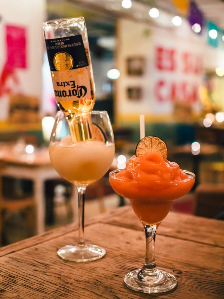 Budapest Instagrammable Places - Delicious cocktail at Tereza Mexican Restaurant