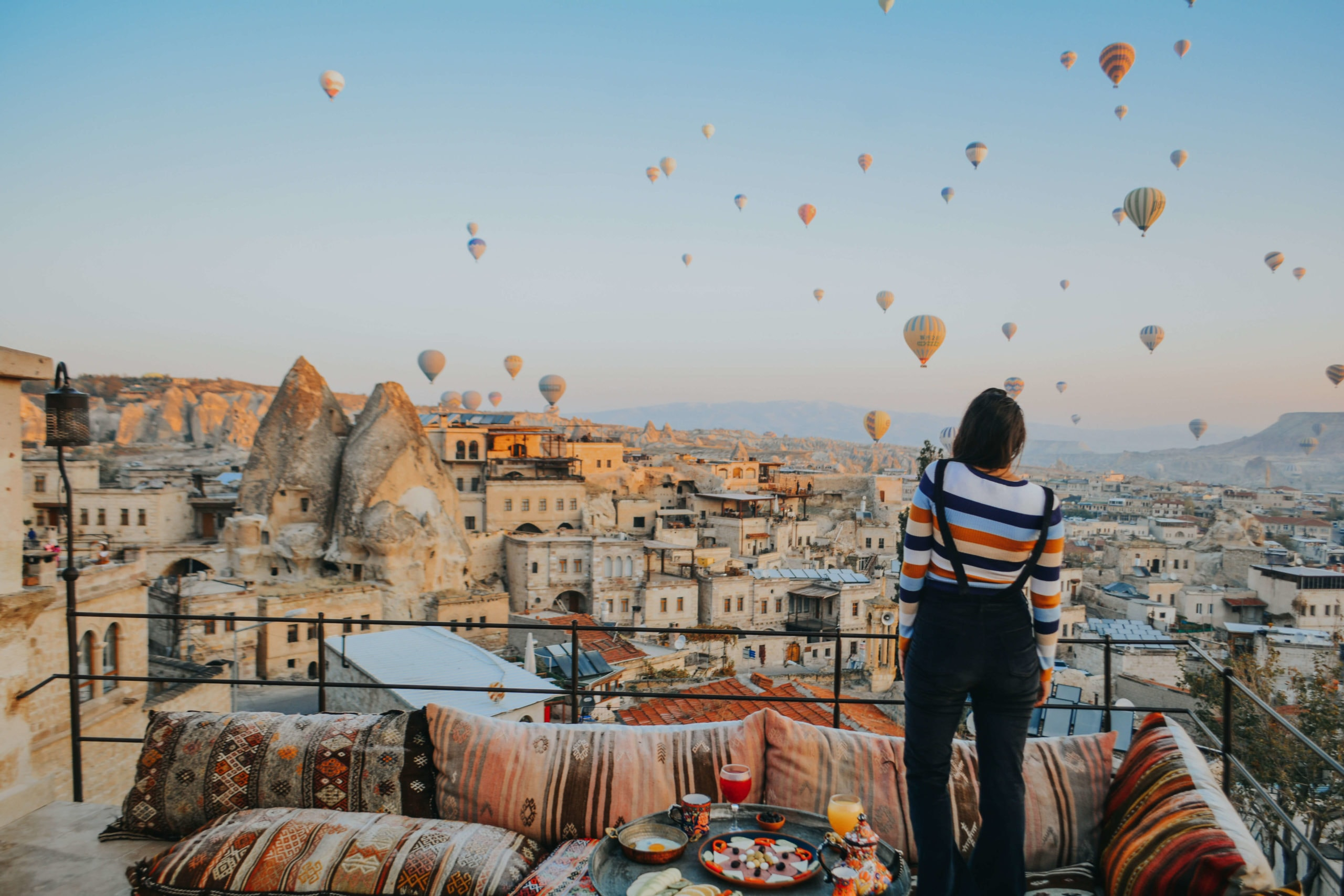 Travel bloggers reveal their favorite experiences in the world - Hot air ballooning in Cappadocia, Turkey
