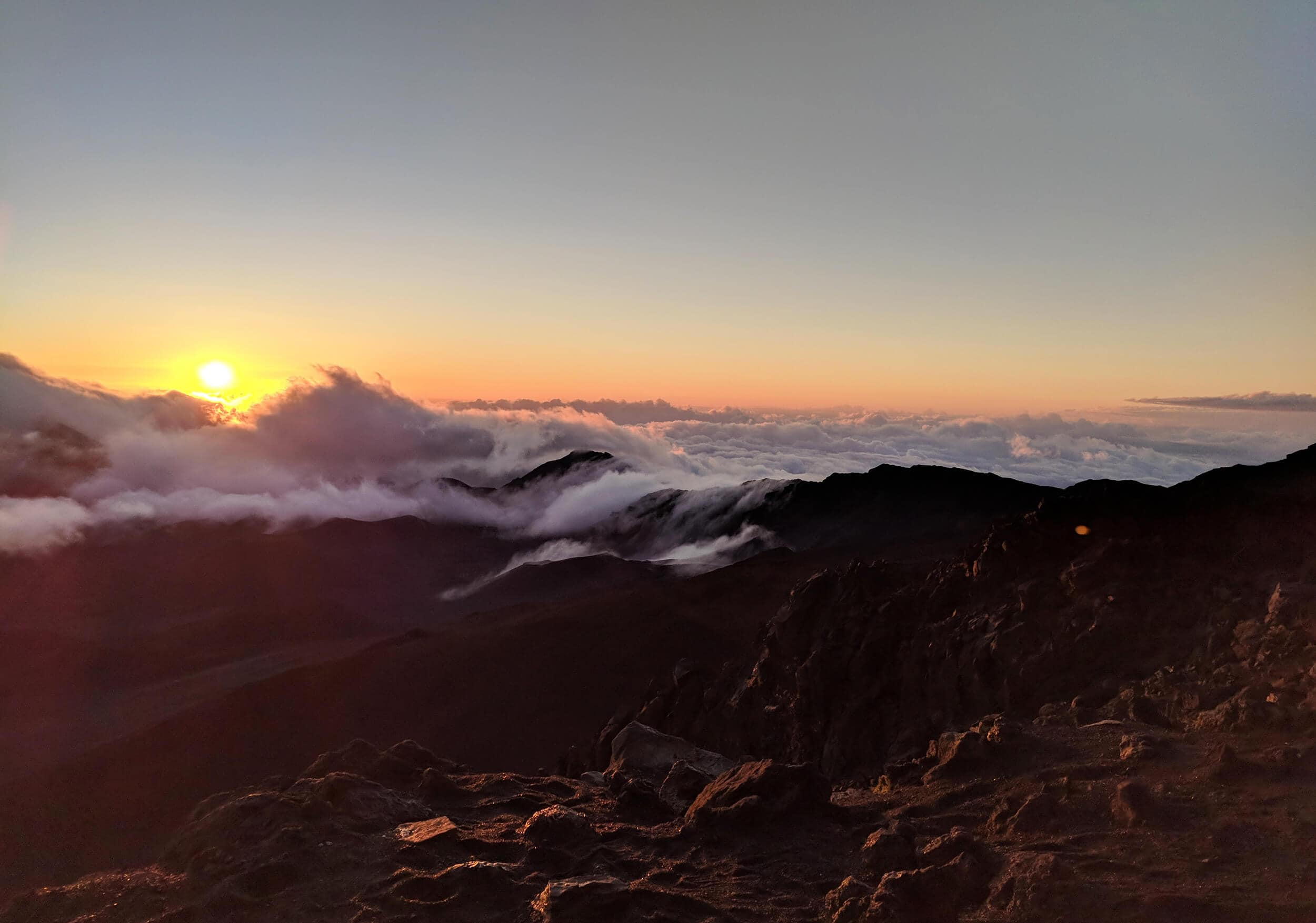 Travel bloggers reveal their favorite experiences in the world - Sunrise over Haleakala Volcano on Maui in Hawaii