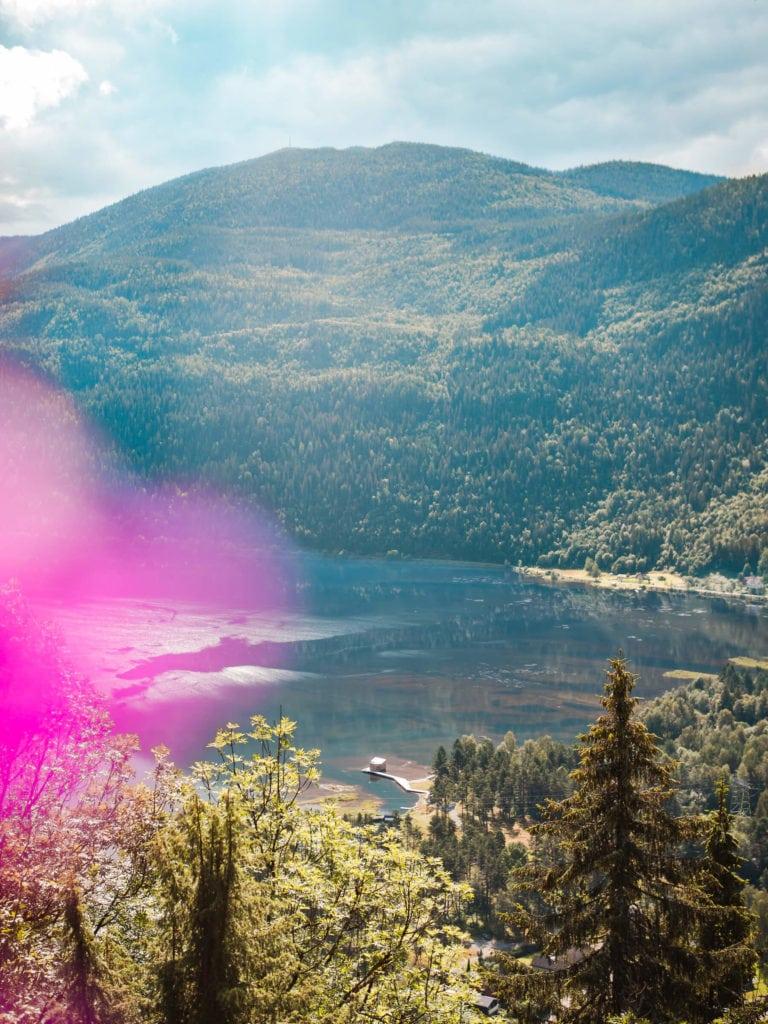 Stunning view of Soria Moria Sauna in Dalen, Telemark #norway #bucketlist #travelinspo