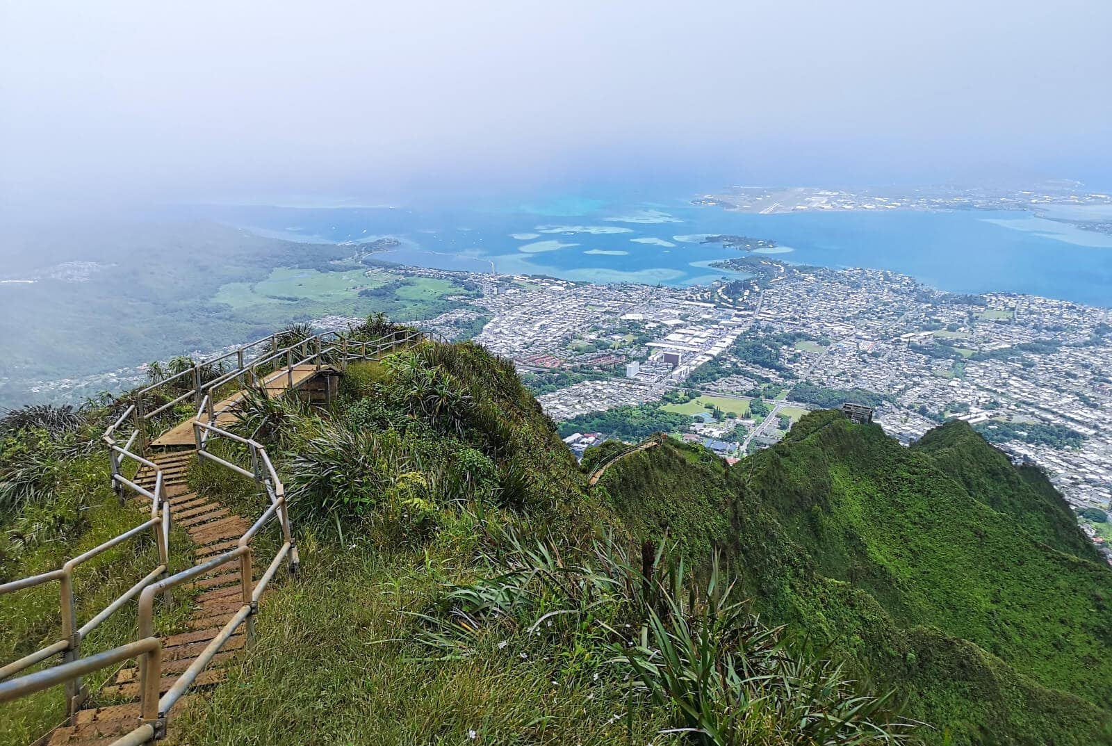 Travel bloggers reveal their favorite experiences in the world - Hiking the Stairway to Heaven on Oahu, Hawaii (the legal way)