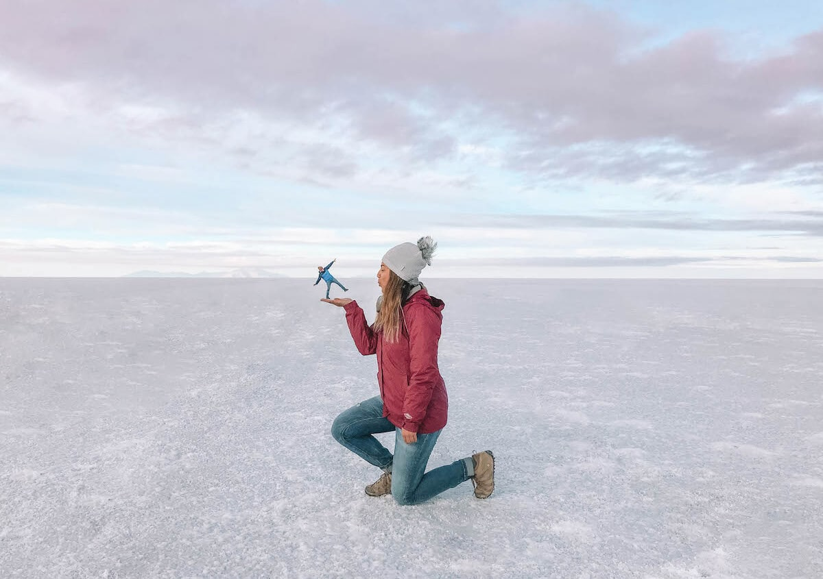 Travel bloggers reveal their favorite experiences in the world - Salar de Uyuni salt flats in Bolivia