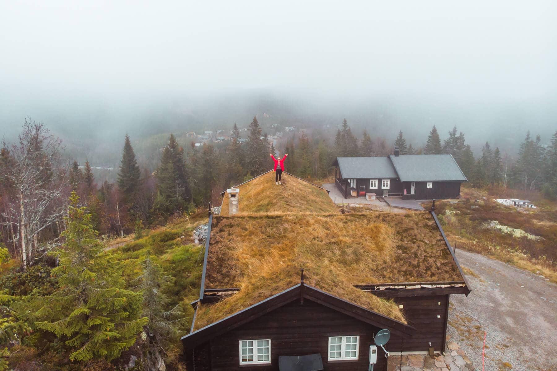 A traditional Norwegian mountain cabin - Ultimate Norway bucket list